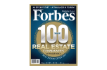Forbes 100 Real Estate Companies for the Middle East magazine Front Cover